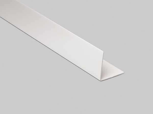 Primo Winkelleiste Weiss 40x40mm Kunststoffwinkel Selbstklebend Leisten Outlet