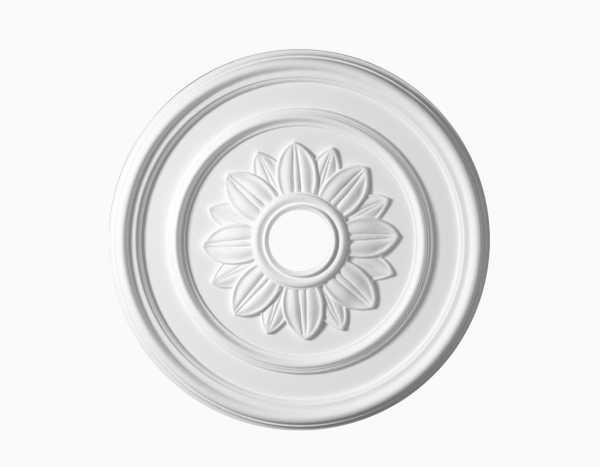 Zierrosette mit Durchmesser 52 cm - Typ Flora