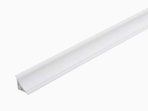 Multileiste 14 x 14 mm in 260 cm – Dekor weiß