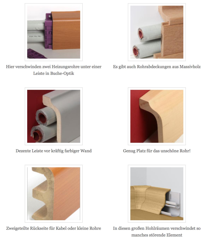 rohre auf putz verkleiden berraschend schick leisten. Black Bedroom Furniture Sets. Home Design Ideas