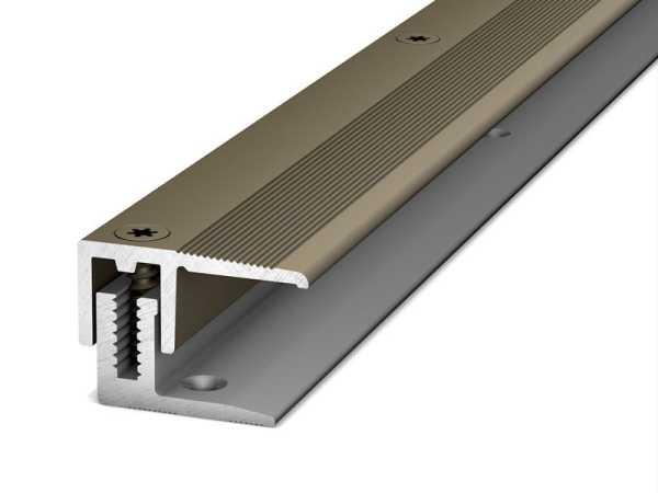 Prinz Abschlussprofil LPS 220 Länge 270 cm Edelstahl matt, 22 mm inkl. Montagezubehör