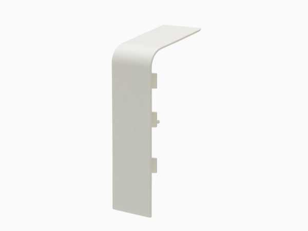 Verbinder für Rohrverkleidungsleiste 45 x 110 mm – Dekor weiß