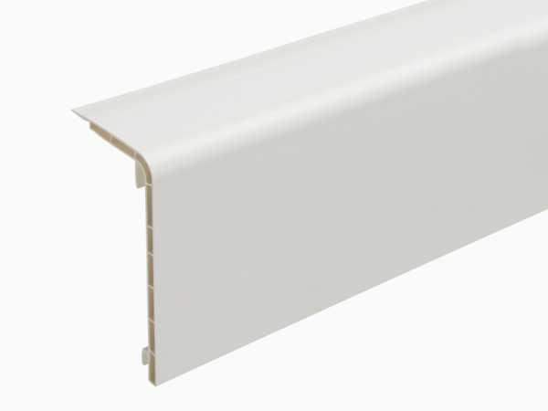 Hart-PVC-Rohrverkleidungsleiste 45 x 110 mm in 200 cm, weiß