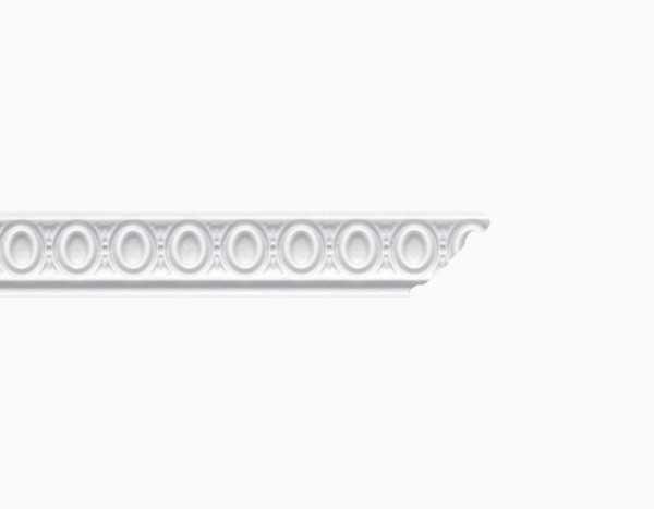 Deckenleiste 30 x 30 mm in 200 cm - Typ Elisa