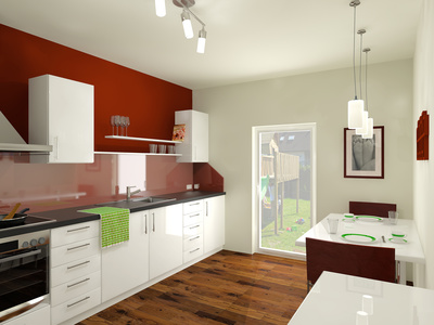 Küchenwandleisten in modernen Küchen