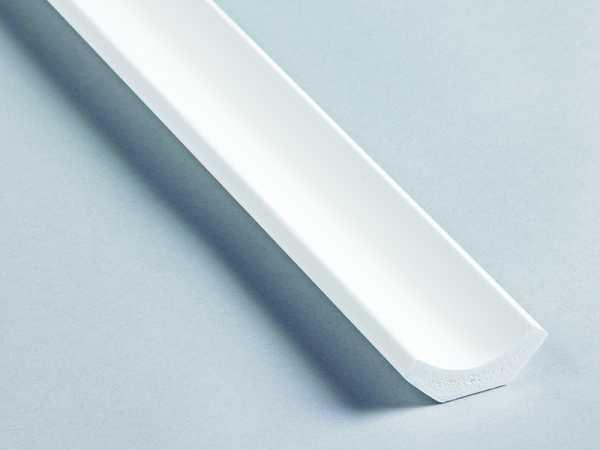 Primo Hohlkehlleiste weiß 21x21mm aus pvc