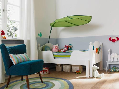 Position Bett im Kinderzimmer