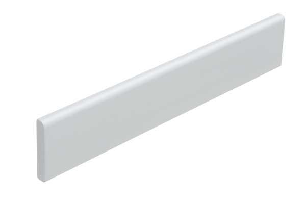 Universal Abschlussleiste für Wand und Decke, 43 x 7 mm, weiß