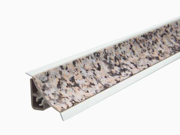 Küchenwandleiste 23 x 25 mm inkl. Befestigung – Dekor Granito