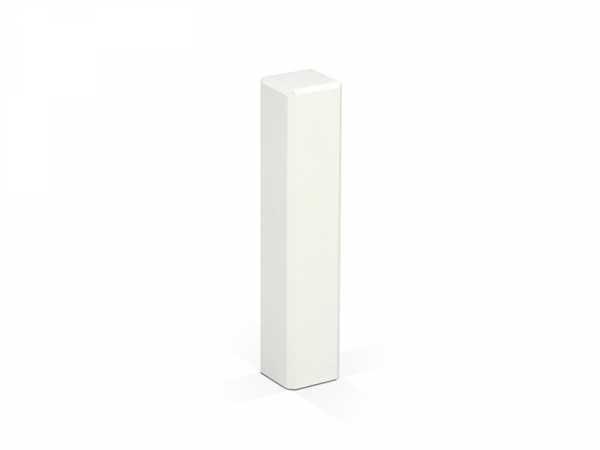 Weiße Holzecken 21 x 21 x 95 mm für Sockelleisten